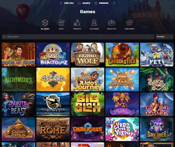 Welcome to Casinomia Online Casino!