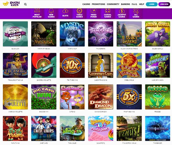 Ducky Luck Casino Online