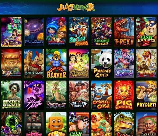Juicy Vegas Casino free spins, bonus money, promo codes