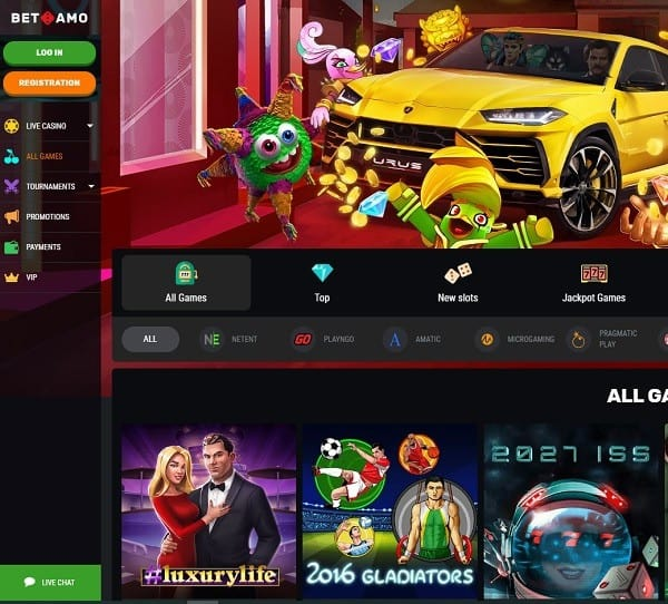 Welcome to Betamo Casino Online!
