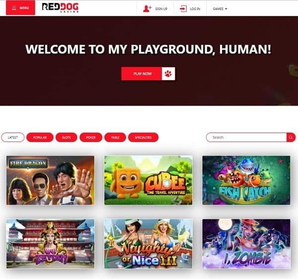 Red Dog Casino Review, Rating, Bonuses