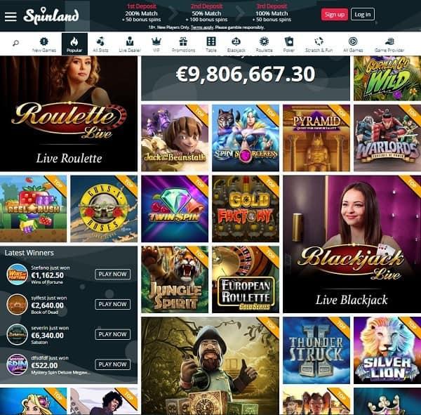 Spinald Casino Review