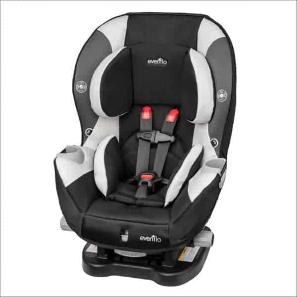 Car Seat for Baby Yoda - the Evenflo SureRide DLX