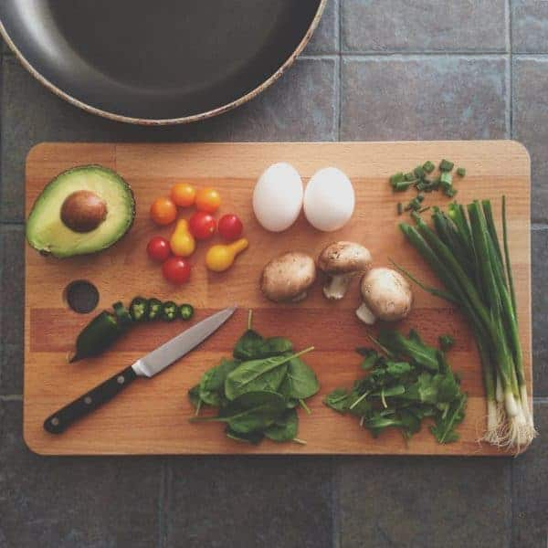 A good knife and cutting board are essential in any kitchen, even a vacation home.