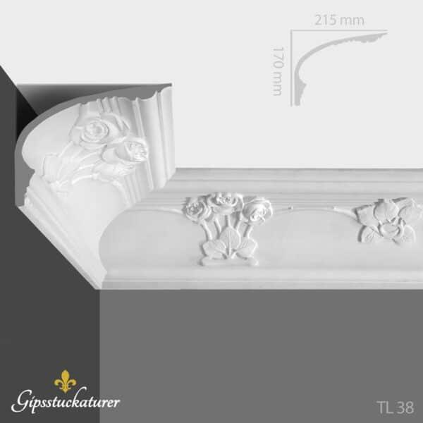 gips-stuckaturer-stockholm-sekelskifte-dekorativa-taklister-taklist--tl38-gipsstuckaturer-se
