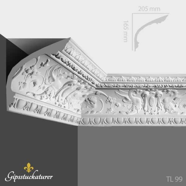 gips-stuckaturer-stockholm-sekelskifte-dekorativa-taklister-taklist-tl99-gipsstuckaturer-se