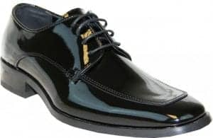 Tuxedo Shoes Patent Leather for Men and Boys