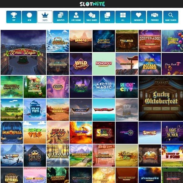 Slotnite Casino free bonus