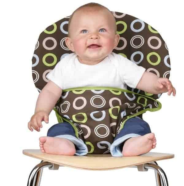 baby travel gear, chair harness, travel high chair