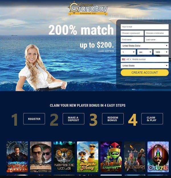 GrandBay Casino Review