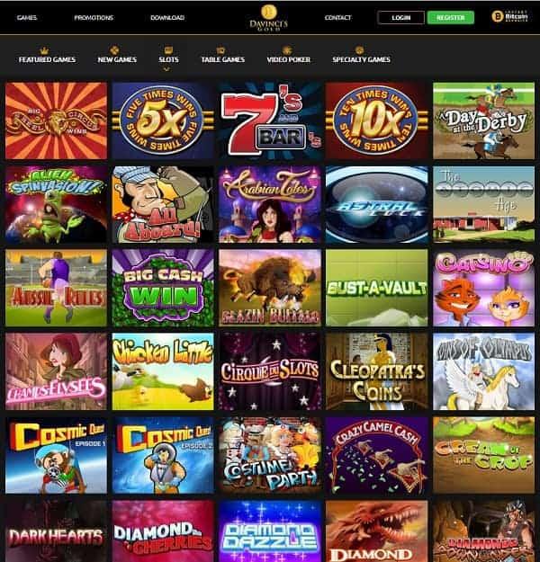 Da Vinci's Gold Casino powered by RIVAL
