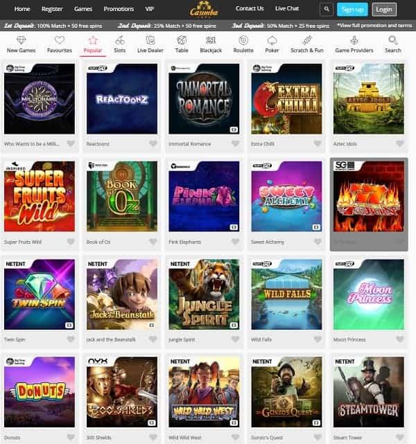 Casimba Casino Full Review