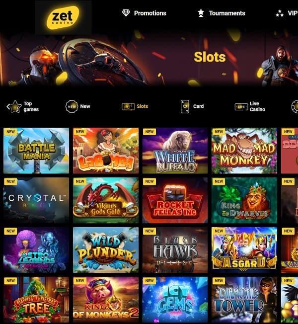Zet Casino reviews