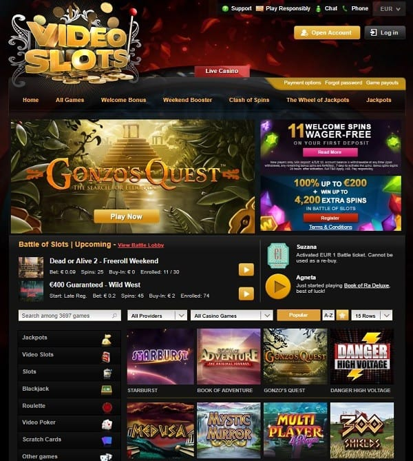 The Casino website review & rating
