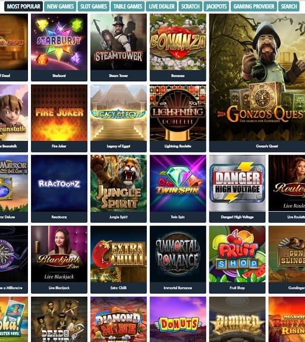 Jonny Jackpot Casino Online 100 free spins bonus!