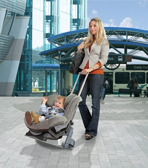 car seat travel cart, car seat travel accessory