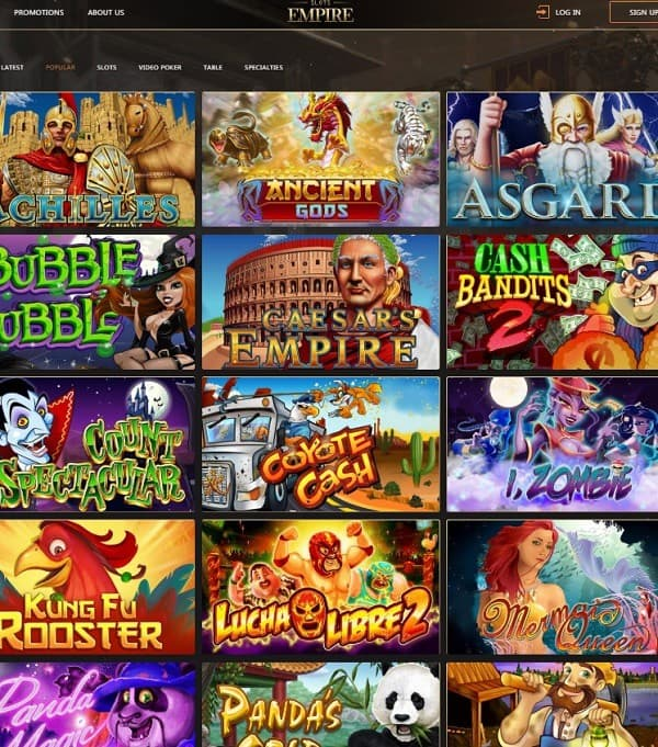 US Casino games and software providers