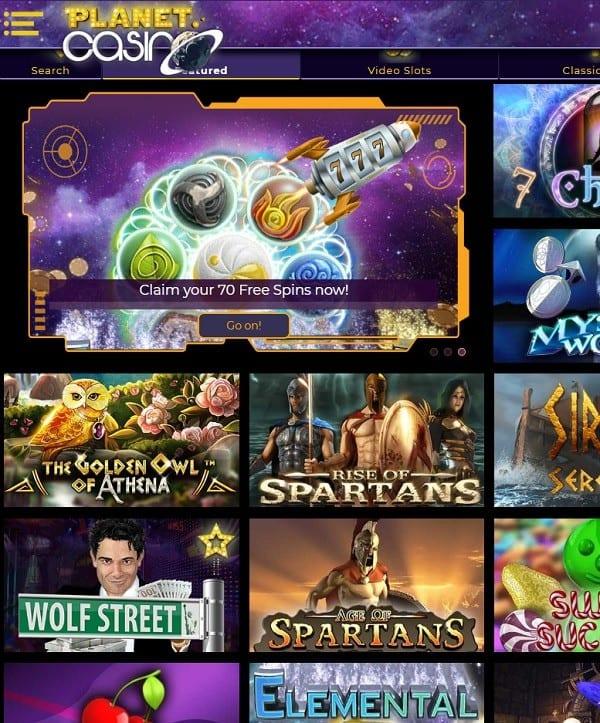 Planet Casino review