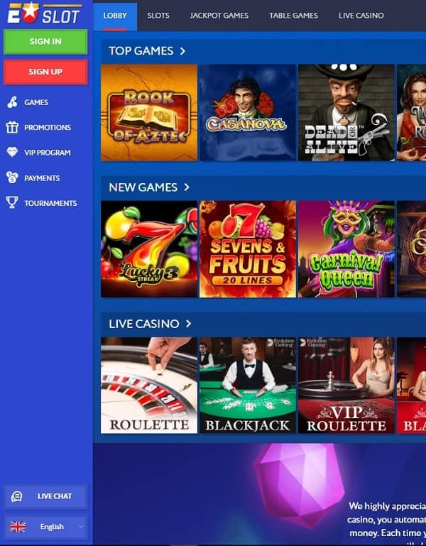 Play For Free the Best Casino Games!