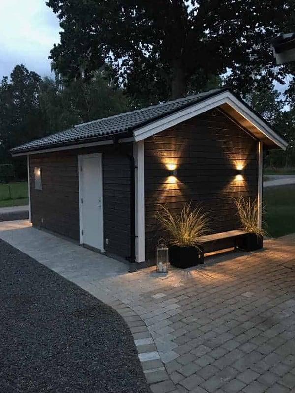 Belysning på garage