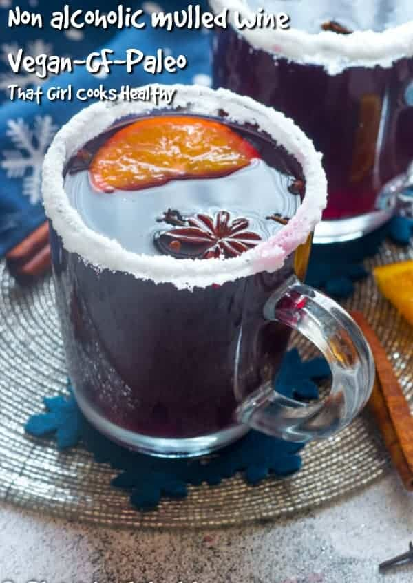 Embrace the festive season with this tasty non alcoholic mulled wine. A great alternative for drivers, children or those who don't consume alcohol