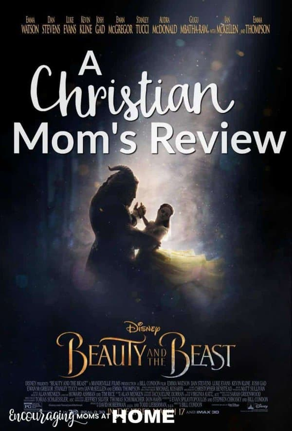 Christian Mom's Review of Beauty and the Beast