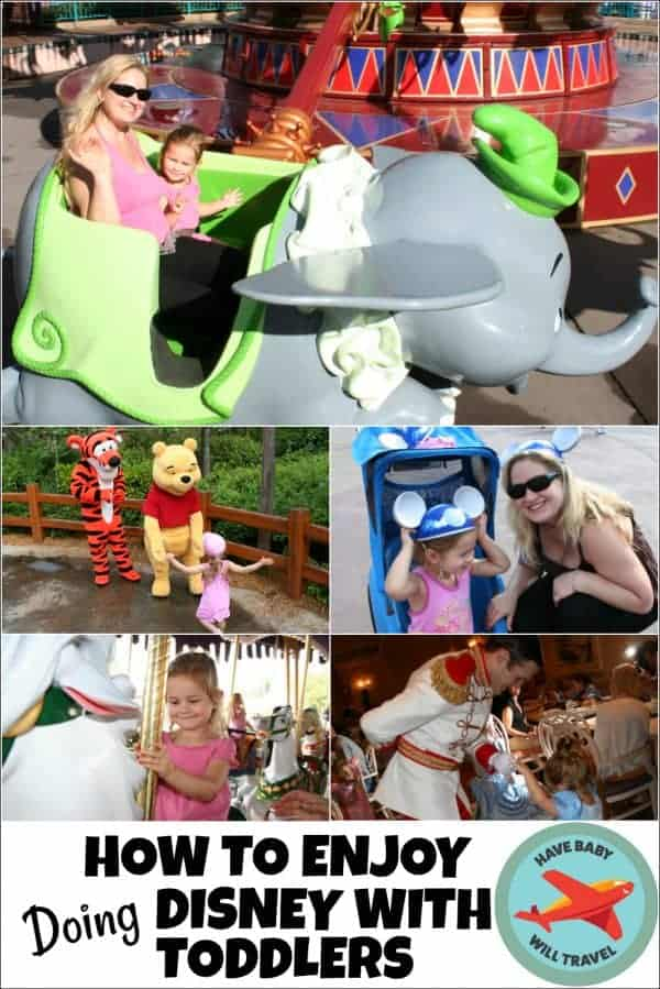 disney with toddlers