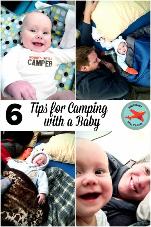 Tips for Camping with Baby