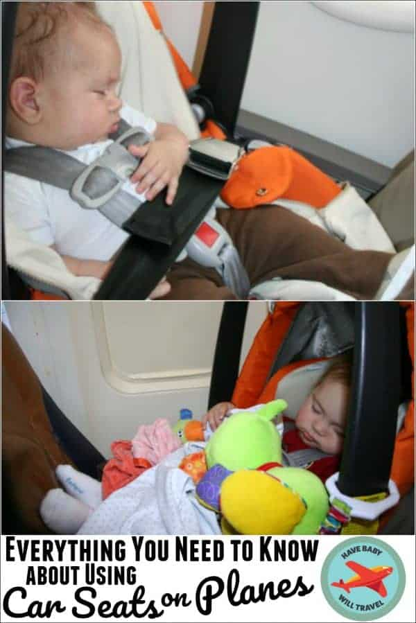 Using Car Seats in Airplanes