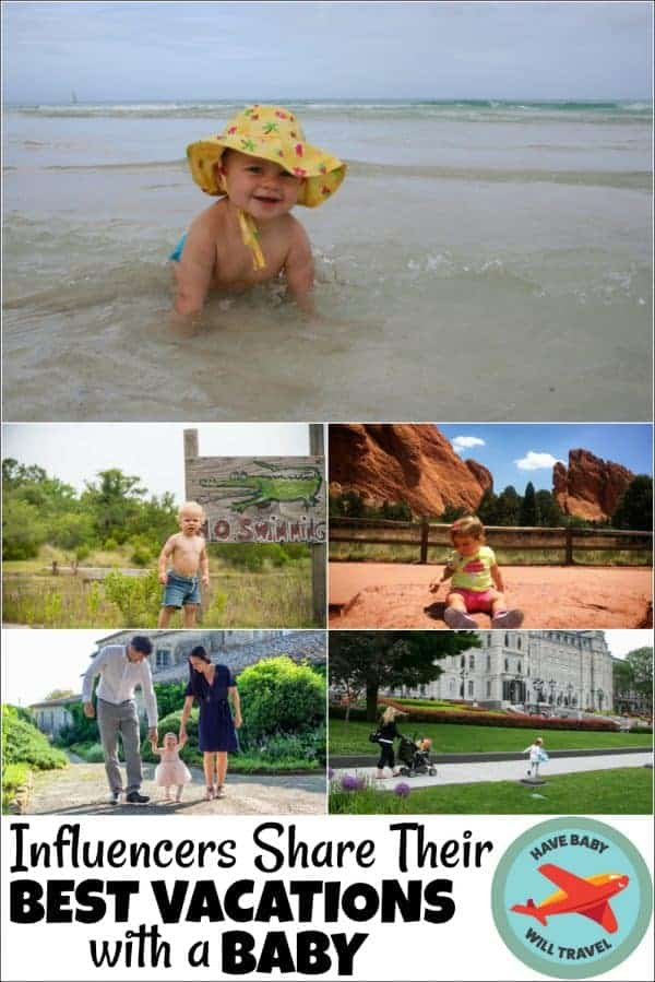 best vacations with a baby, places to travel with a baby
