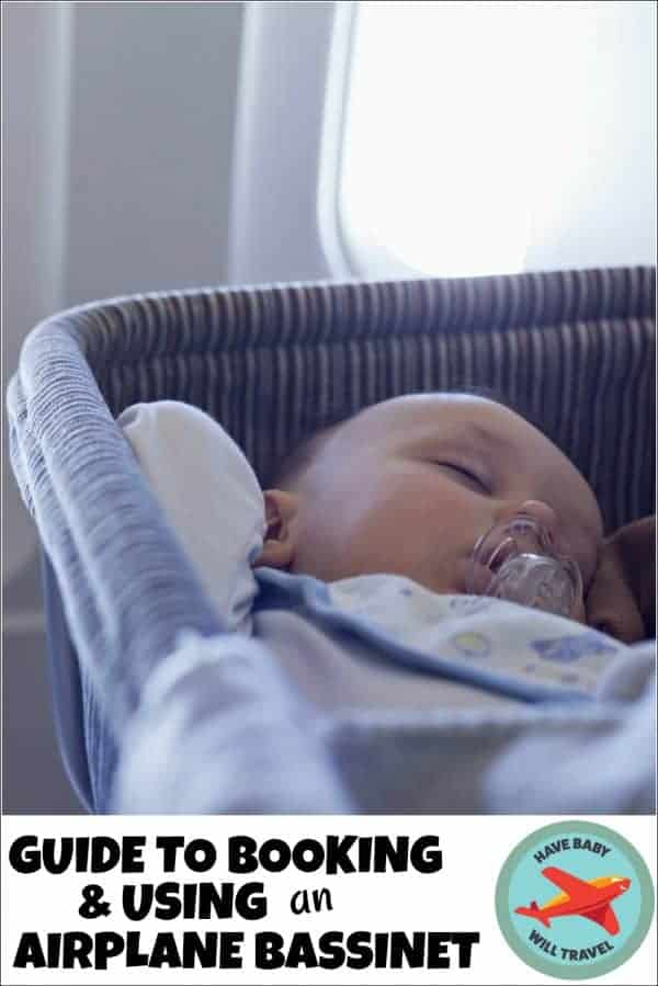 airplane bassinet, airline bassinet, which airlines have bassinets for infants