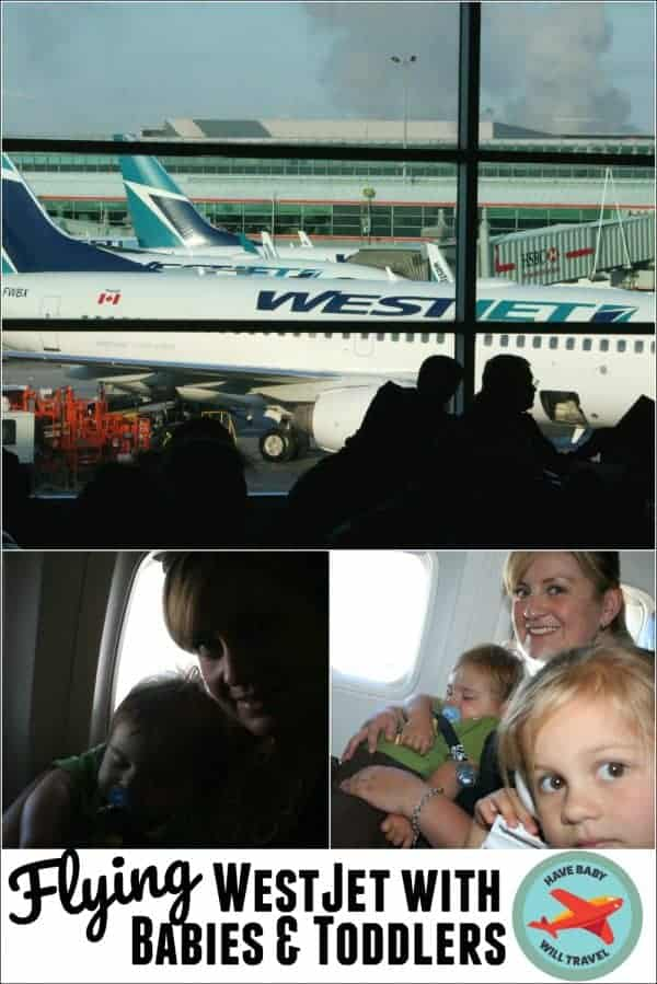 Flying WestJet with a Baby or Toddler