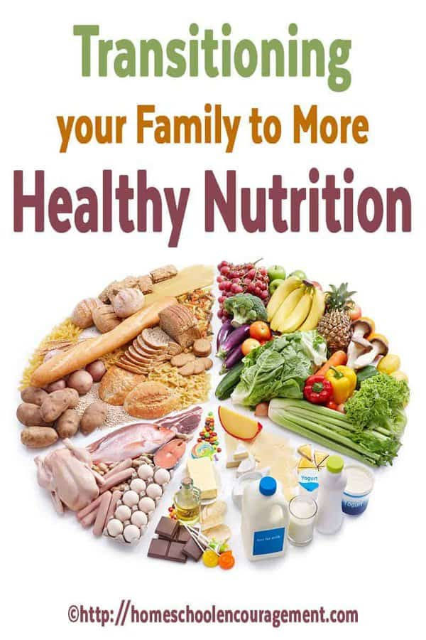 Are you ready to transition your family to more healthy nutrition? Having a plan that slowly incorporates more healthy foods into your diet is a great way to start.