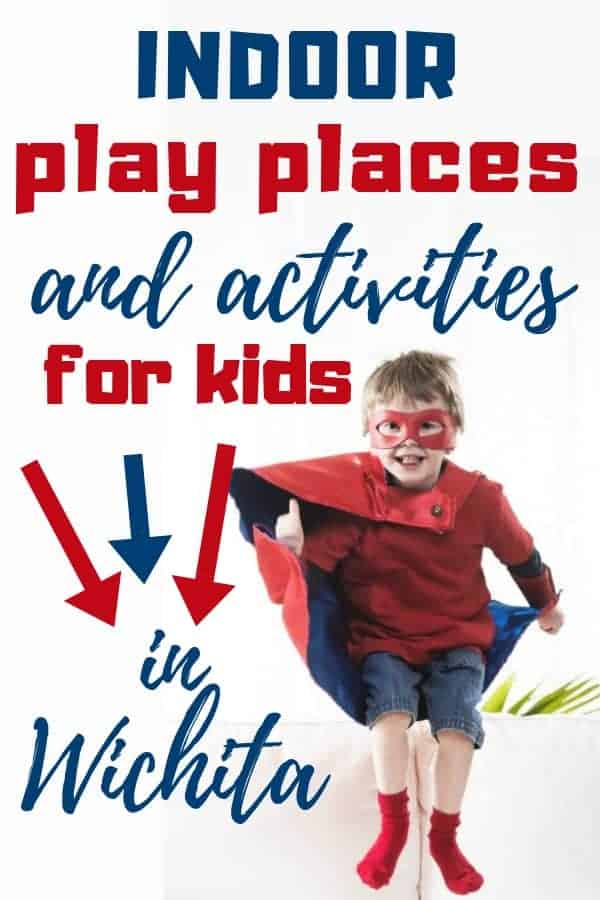 Indoor activities for kids in the Wichita KS area.   Wichita on the Cheap - Great indoor play places, activities, and locations for family fun for children. #indoorfun #wichita #ks #wotc