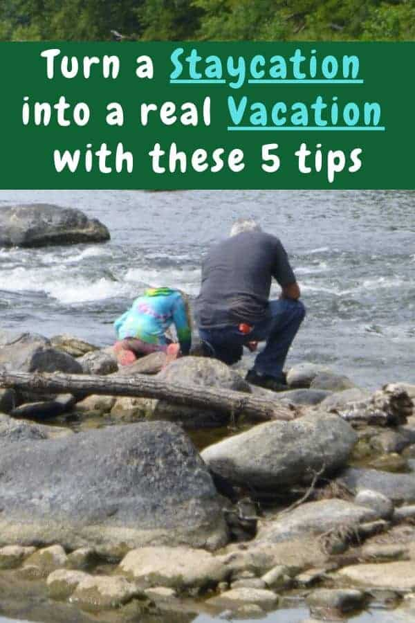 5 tips for relaxing, eating well, having fun and generally making your family staycation vacation feel memorable for the right reasons. #tips #inspiration #staycation #vacation #family