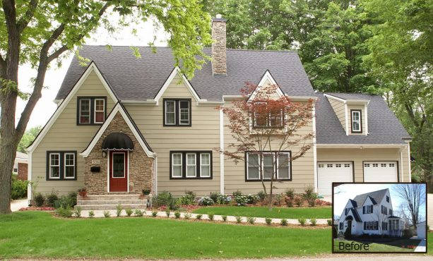 historical ranch home additions for a new garage and a more spacious interior