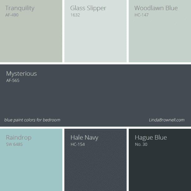 7 most unusually excellent blue paint colors for bedroom