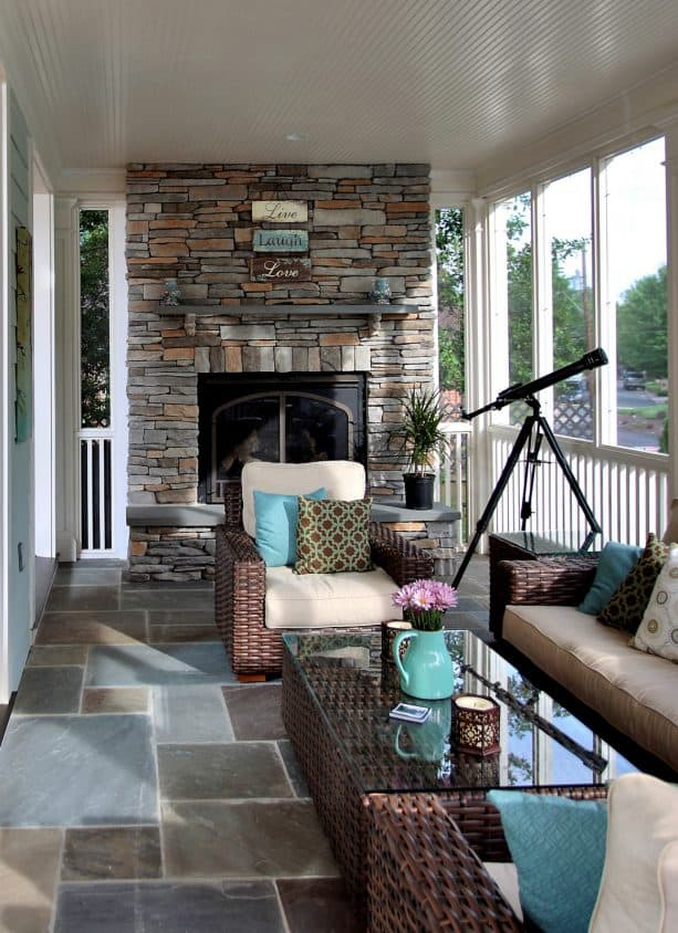 a long screened porch with fireplace for enjoying stargazing.jpg
