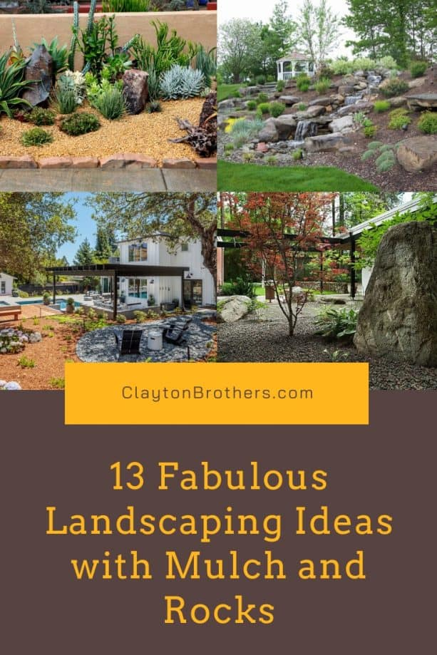 Landscaping Ideas with Mulch and Rocks