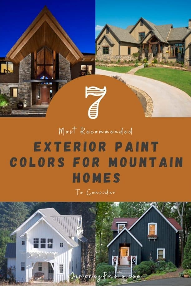 7 Most Recommended Exterior Paint Colors for Mountain Homes