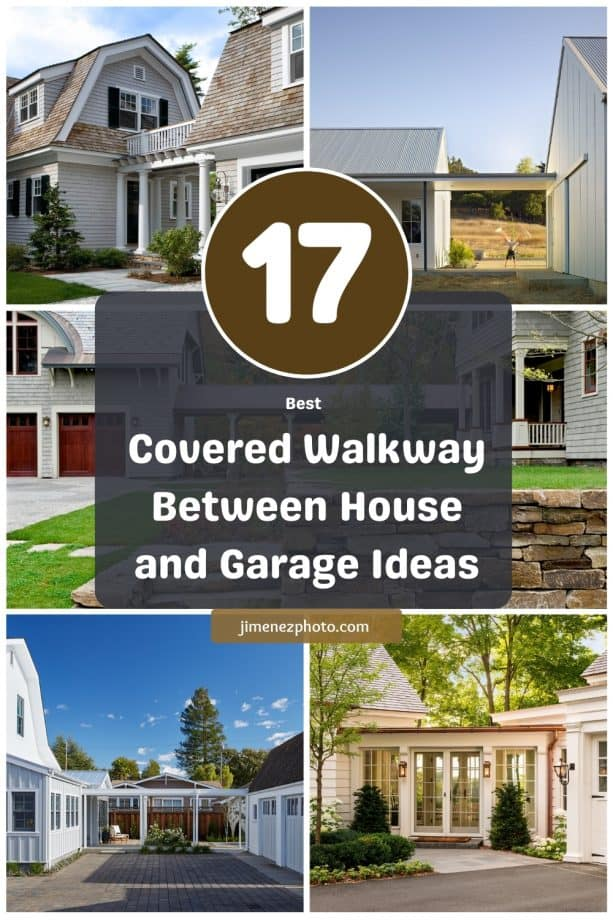 17 Best Covered Walkway Between House and Garage Ideas