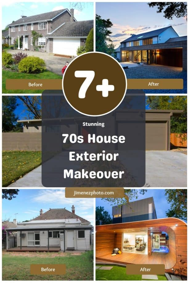 70s House Exterior Makeover - 8 Stunning Before and After Ideas to Get Inspired
