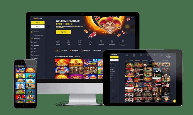 GetSlots Casino Online & Mobile