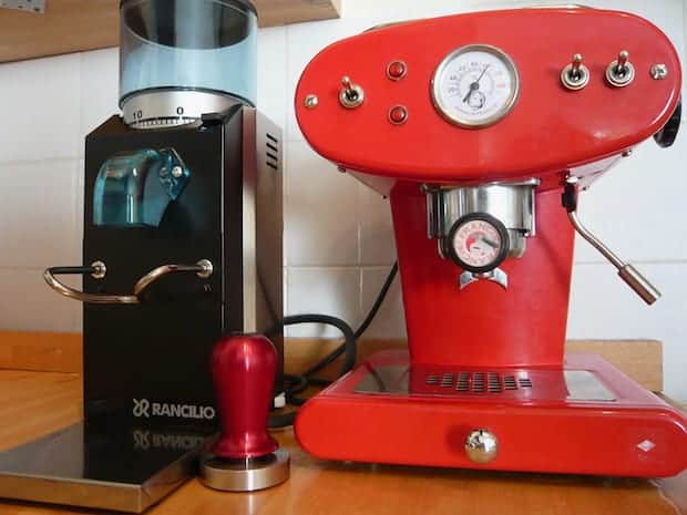 The Rancilio Rocky is among our best espresso grinders under $500