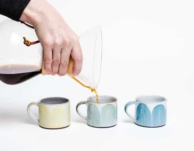 Espresso cups by Caroline Dolan