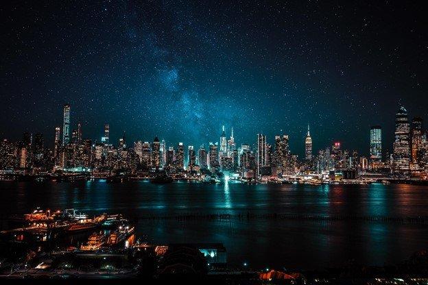 Smart City Technologies city at night