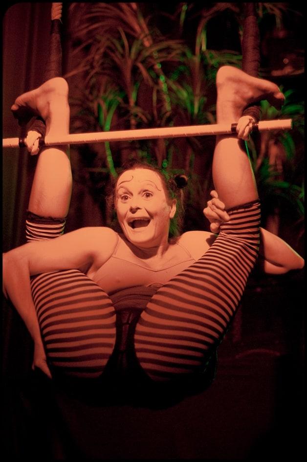 Trapeze at WOW's 10 year anniversary show (photo © Gaétane Claire)