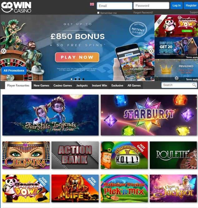 GoWin Casino Review