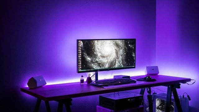 Gaming Standing Desk - Bill Lentis Media
