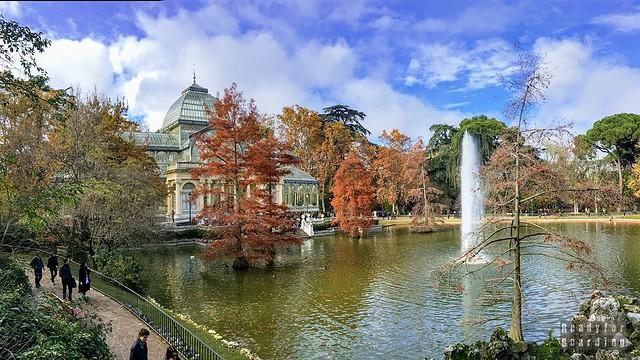 Palacio de Cristal, Park Retiro, Madryt - Hiszpania